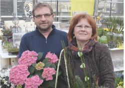 Foto der Chefleute der Firma Gartenwelt Trapp